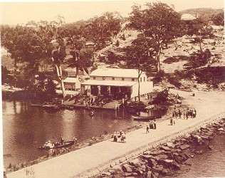audley boatshed         1900's