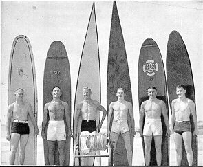 Manly's top boardmen 1939-40, Click for Photo details.