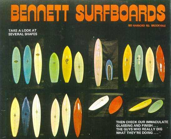 bennett surfboards